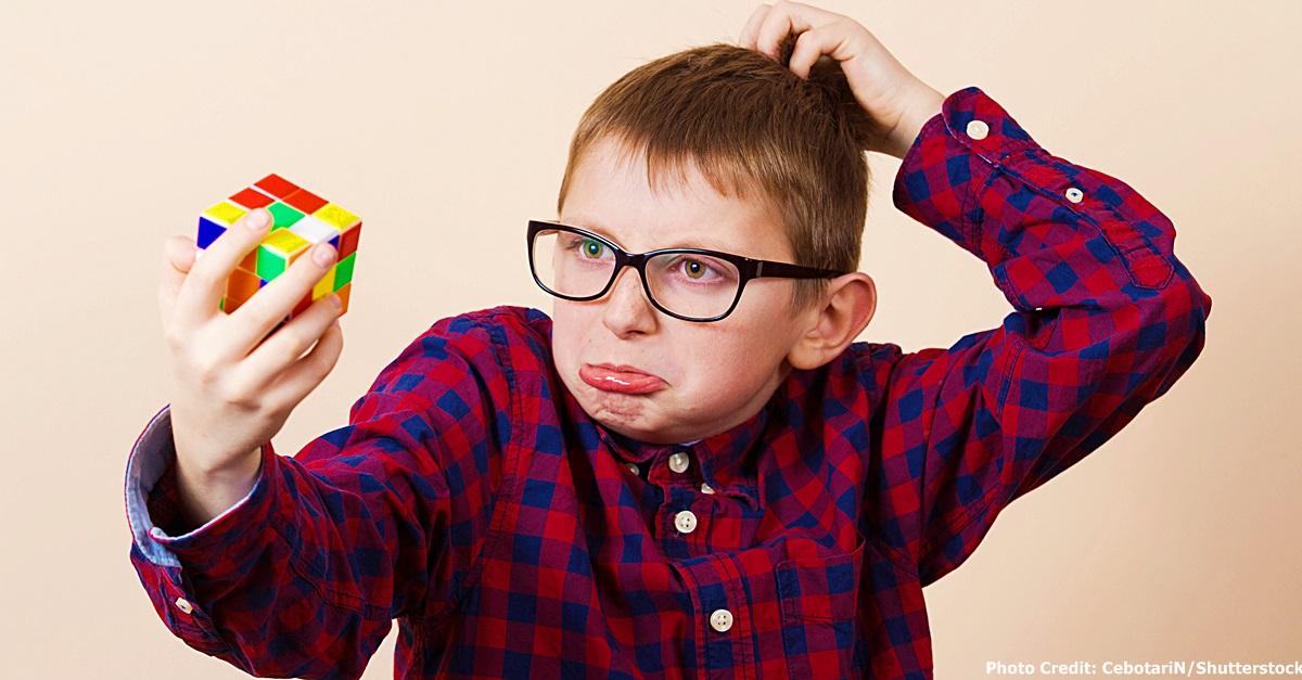 Kid Rubiks Cube